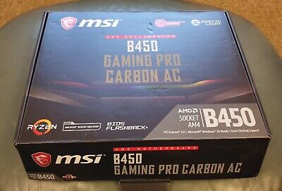 MSI B450 Gaming Pro Carbon AC Motherboard • 99£