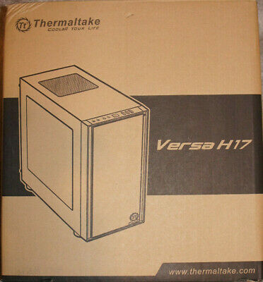 Thermaltake Versa H17 M-ATX Micro Case - Black USB 3.0 • 34.99£