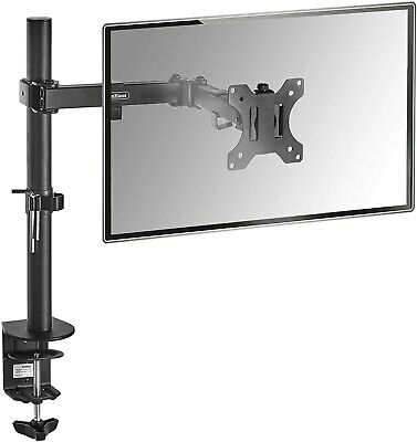 VonHaus Monitor Mount - Single Arm Desk Clamp Stand For 13-32  VESA Screens • 13£