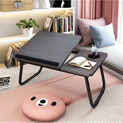 Foldable Laptop Bed Table Stand Computer Desk Sofa Lap Tray Adjustable Portable • 16.79£