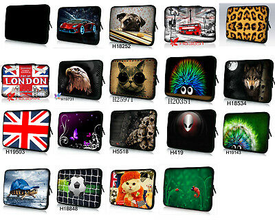 Universal Sleeve Case Bag For 10 /11 /12 /13 /14 /15 Inch Tablet Notebook Laptop • 10.99£