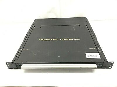 ATEN CL1000 17  Master View TM Max Rackmount LCD KVM Switch Slideaway Console  • 44.99£