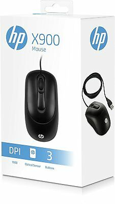 HP Business Office USB X900 Optical Mouse For PC/Computer/Laptop NEXT DAY DELIV • 7.89£
