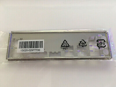 ASUS EX-A320M-GAMING IO Shield, Backplate Motherboard 13020-02977700 • 15£