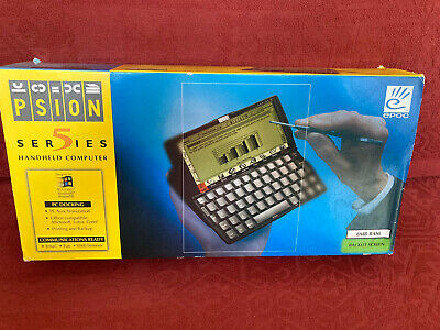 Psion Series 5 In Original Box With Black Leather Case • 40£