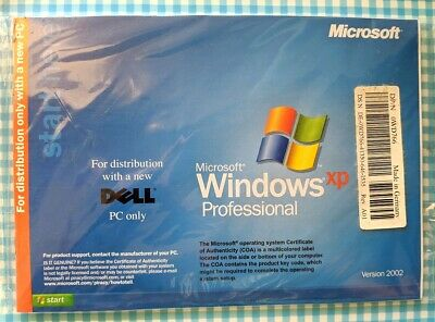 Sealed Dell Windows XP Professional SP2 Installation / Recovery Disk CDROM • 8.95£