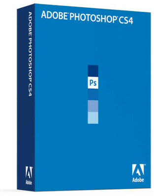 Geuiune Adobe Photoshop CS4 Product Key Only • 29.99£
