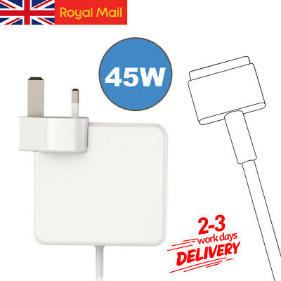 45W AC Adapter Power Charger For Apple Macbook Air T-Tip 11&13 • 15.85£