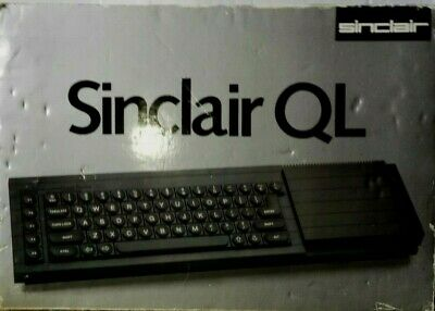 Sinclair Ql In Original Box ...set Of 6 Manuals Included • 250£