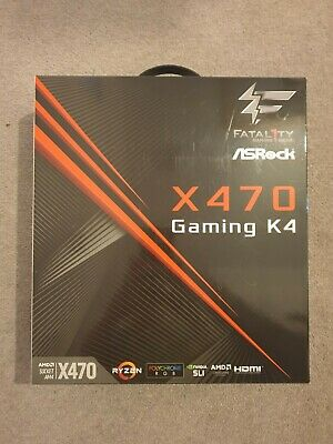 Asrock X470 Fatal1ty Gaming K4 (Used, Excellent Condition) • 99.99£