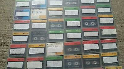 An Assortment Of Data Cartride Ges*Used Tapes* 62 In Total • 0.99£