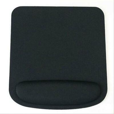 Black Square Premium Anti Slip Mouse Mat With Wrist Support For Laptop Pc • 3.99£