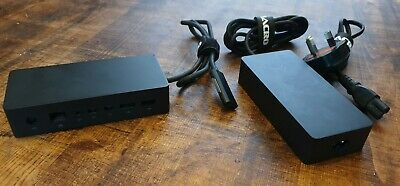 Microsoft Surface Docking Station 1661 + Power Pack For 3/4/5/6/7 • 23£