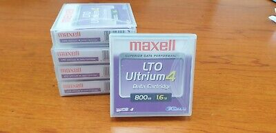 Maxell Ultrium 4 Tapes X 5   • 25£