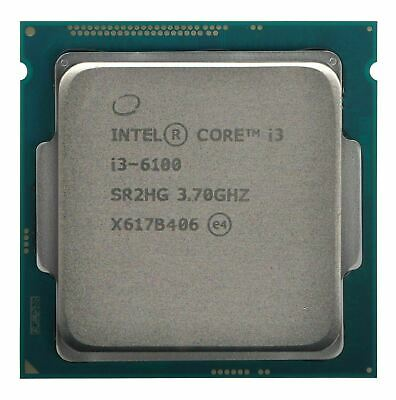 Intel Core I3 6100 SR2HG | Dual Core 3.70GHz LGA1151 CPU Processor Skylake • 49.99£