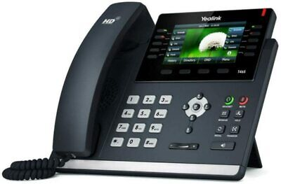 Yealink T46S IP Colour Screen Gigabit VoIP Desk Phone • 89.99£