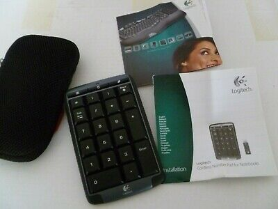 Logitech  Cordless Number Pad For Notebooks • 40£