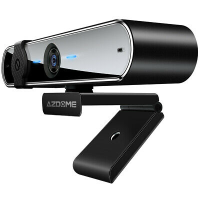 AZDOME 1080P Webcam Full HD Web Camera USB Webcam With Microphone For PC Laptop • 25.99£