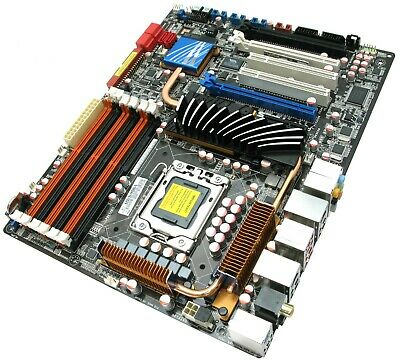 ASUS P6T Deluxe V2, X58 I7 920 And 24GB DDR3 Tri Channel Ram ComboUK BASED • 255£