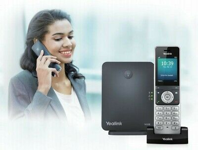 Yealink W60P Handset IP DECT Phone & W56H DECT Base Station • 30£