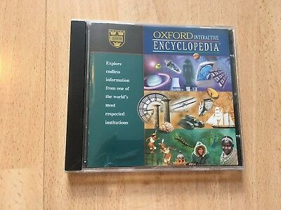Oxford Interactive Encyclopedia CD ROM PC Software Computing Reference • 6.99£