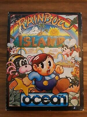 Rainbow Islands - Commodore 64 / C64 - Tested/Working. • 15£