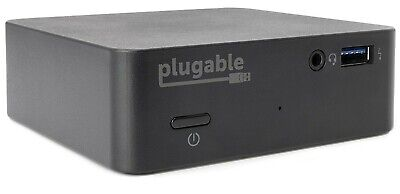 Plugable USB-C Mini Docking Station With 85W Charging For Windows 10 Or Macbook • 64.99£