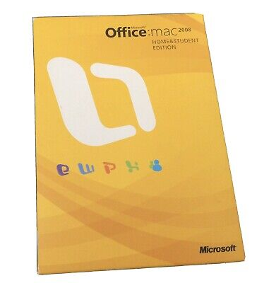 Genuine Microsoft Office 2008 For Apple Mac : Home & Student Edition • 8.50£