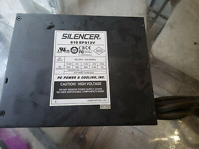 PC Power And Cooling's Silencer 610 EPS12V 610W Power Supply • 50£