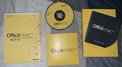 Microsoft Office Mac 2011 Home And Student, Full UK DVD Retail Box, 3 User Pack • 11.60£