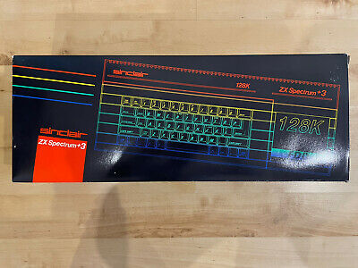 Sinclair ZX Spectrum + 3 Plus 128k Rare Vintage • 46£