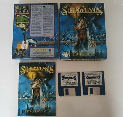 Shadowlands Game For The Commodore Amiga Tested. • 15£