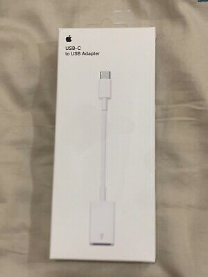 Genuine Apple USB-C To USB Cable Adapter For IPad Pro IMac MacBook Pro  • 15£