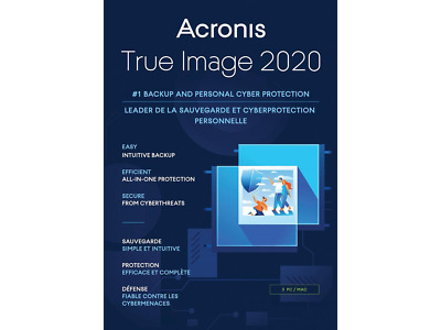 Acronis True Image 2020 USB Data Backup/Restore -Clone -Copy -Migrate Incl SSD  • 14.50£