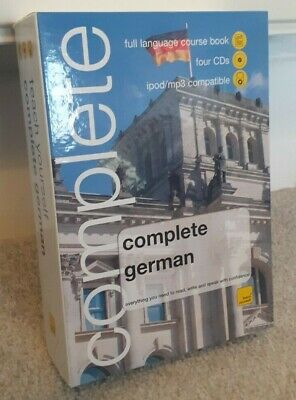Learn To Speak German Complete Introduction Language Course On CD AND BOOK • 4.20£