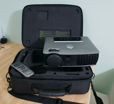 Dell 2400mp Projector Inc Case, 868 Lamp Hours, • 45£