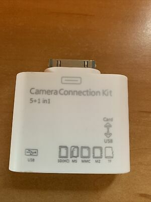 Camera Connection Kit 5+1 In 1 • 3.20£