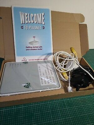 Thomson TG585 V8 Plusnet ADSL Wireless Modem Router Boxed Pre-owned VGC  • 9.99£