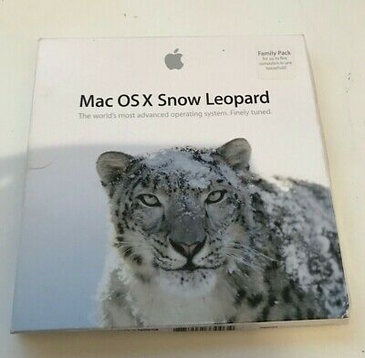 Genuine Mac OS X Snow Leopard - Original Family Pack • 3.20£