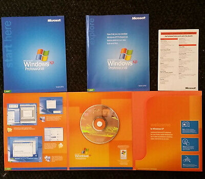Microsoft Windows XP Professional  Version 2002, With Service Pack 2, Boxed • 1.20£