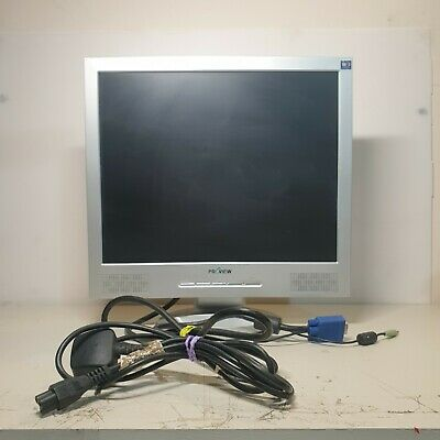 Proview Model 700P 17  PC Computer Monitor - LCD **WITH CABLES** CCTV  • 29.99£