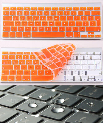 Waterproof UK/EU Silicone Keyboard Cover Protector For Apple IMac, Macbook Pro • 2.99£