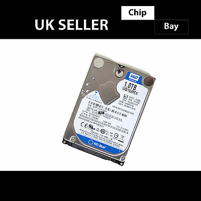 Genuine WD Blue 1TB Internal Hard Drive HDD 2.5  5400 RPM SATA-III WD10JPCX • 39.99£