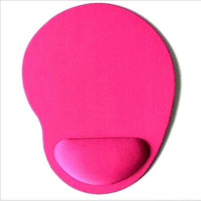 Pink Mouse Mat With Wrist Rest Support • 3.50£