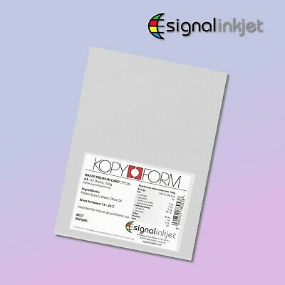 Edible Wafer Card (0.65 - 0.70 Mm) For Cake Toppers 25 Sheets A4 • 7.75£