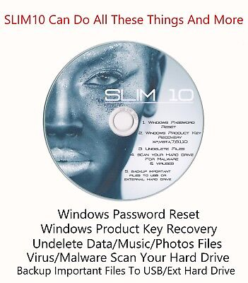 Product Keys Recovery Finder For Windows 2000 / XP / Vista / 7 / 8.1 /10 License • 1.95£