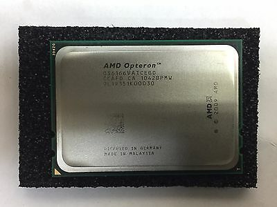 AMD Opteron 6166HE 1.8Ghz 12-Core Processor OS6166VATCEGO 633545-001 596136-002 • 125£