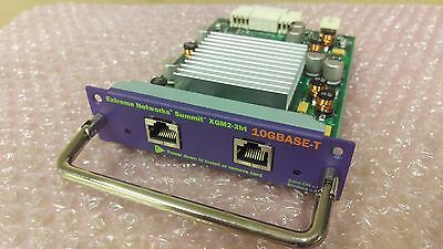 Extreme Networks XGM2-2BT X450 X350 Dual Port 10Gbps 10GBase-T Module 16115 10G • 120£