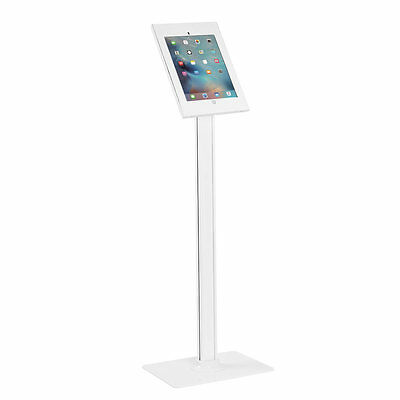 IPad Pro 12.9  Gen 1&2, Lockable Anti-theft Key Lock Floor Stand, White • 9.95£