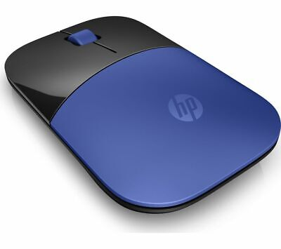 HP Z3700 Wireless Optical Mouse - Blue & Black - Currys • 14.99£